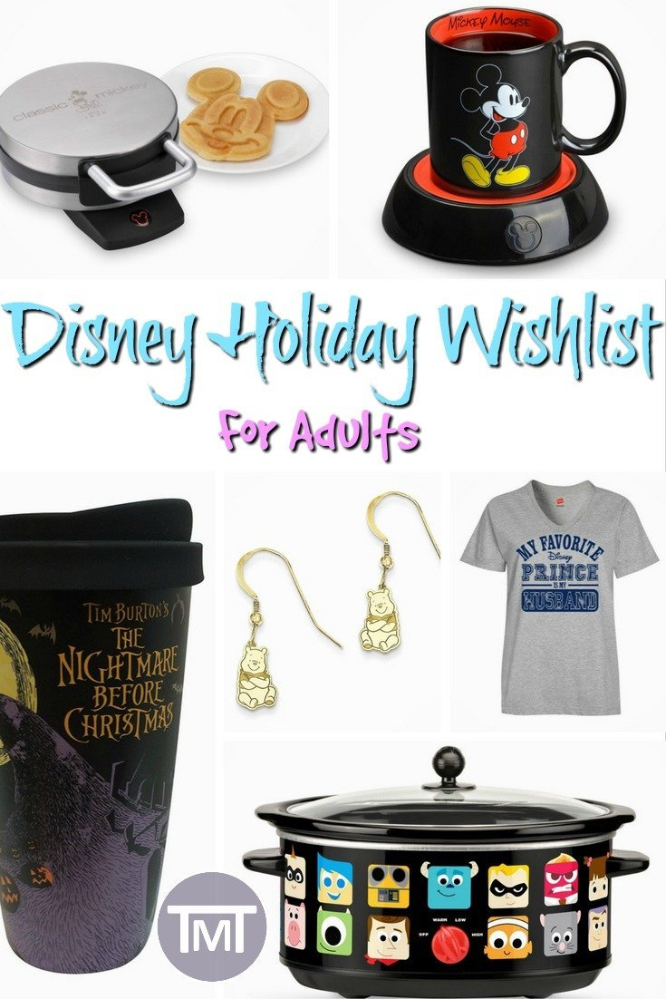 Disney Holiday Wishlist for Adults